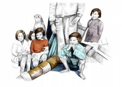 Retrato De La Infancia, Pablo y sus Amigos
