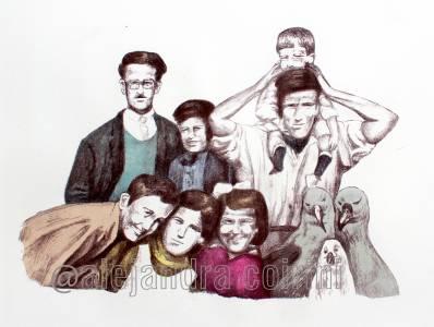 Retrato de la infancia...Carla y sus Amigos