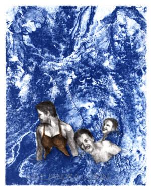Disfrutando el Mar Azul