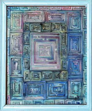 Laberinto Mental En Azul