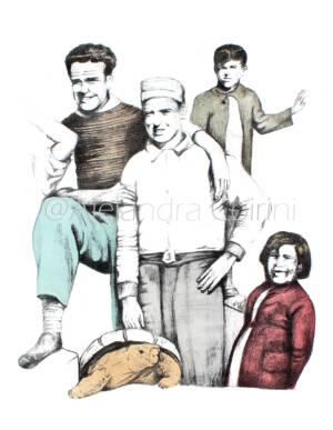 Retrato De la Infancia... Juan y sus Amigos