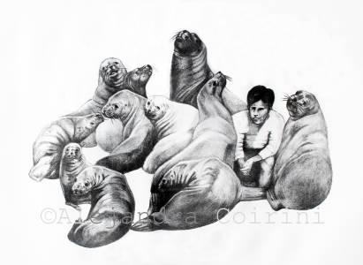 Retrato de la Infancia, ...Roman y sus amigos...